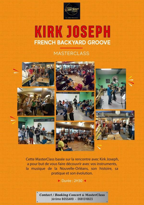 Kirk Joseph Backyard Groove MAsterclass