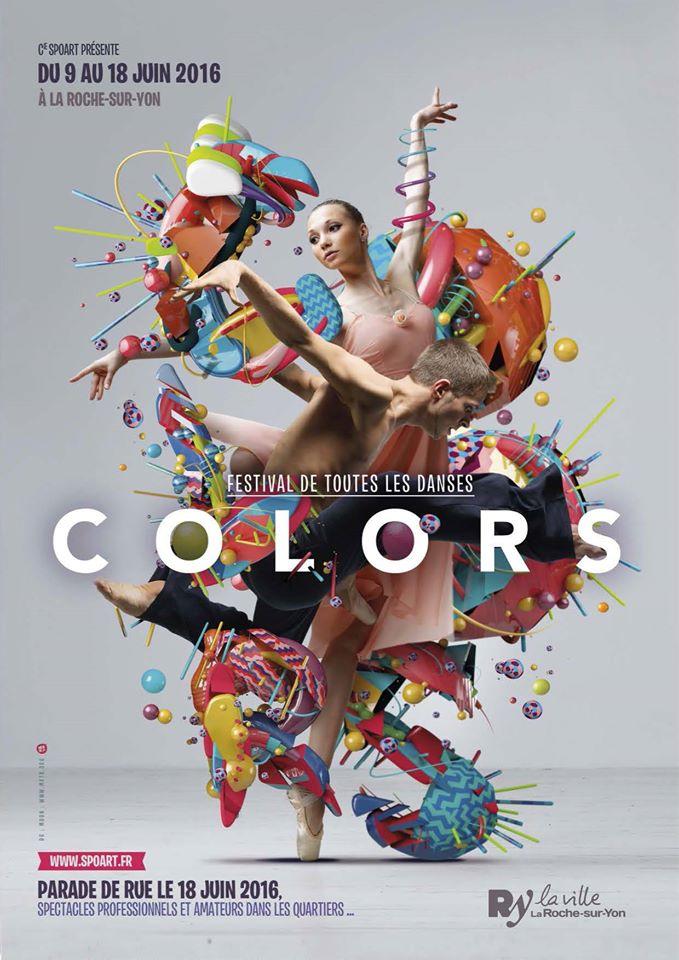 festival colors affiche