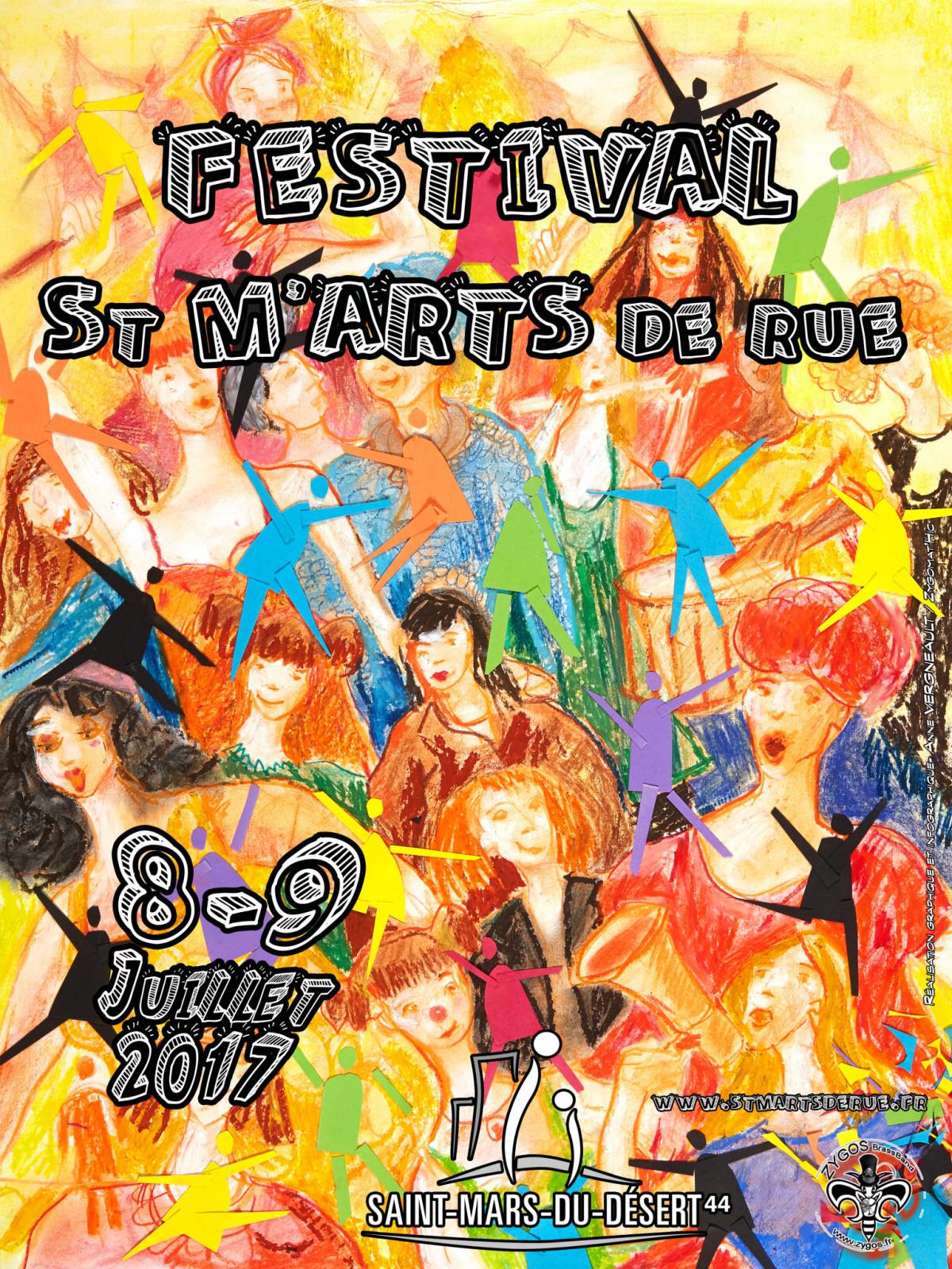 affiche st m arts de rue 2017 #1-4